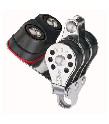 Harken Micro Dreifachblock mit 471 Carbo-Cam ud Hundsfott