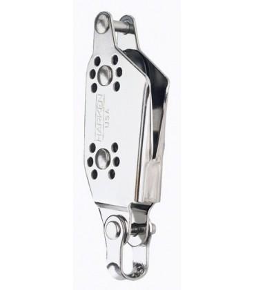 Harken Micro Violinblock mit V-Klemme und Hundsfott