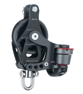 Harken 45 mm Element Block mit 150 Cam-Matic und Hundsfott
