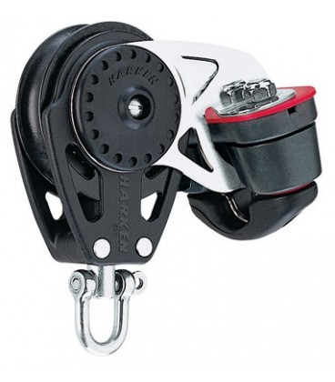 Harken 57 mm Carbo Air Block mit 150 Cam-Matic