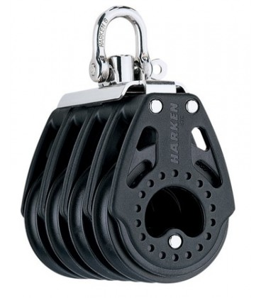 Harken 57 mm Carbo Air Vierfachblock
