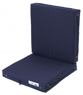 Doppelkissen Royal Comfort, 83 (offen) x 40 x 6.5cm