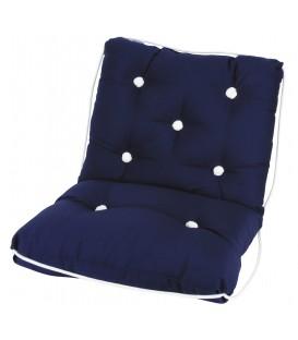 Kapok Doppelsitzkissen 44 x 73 x 9cm