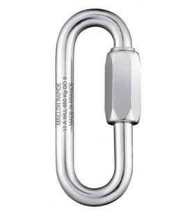 Schraubglied aus Edelstahl 1.4401, grosse Öffnung, Ø 6 mm bis 16 mm
