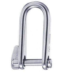 Wichard Schlüsselschäkel aus rostfreiem Stahl 316L