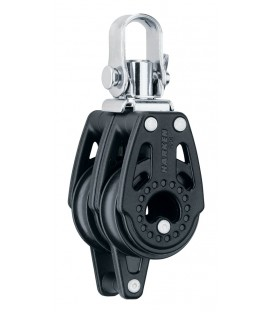 Harken 29 mm Carbo Air Doppelblock mit Wirbel