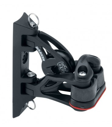 Harken 29 mm Carbo Air kippender Umlenkblock mit 471 Carbo-Cam