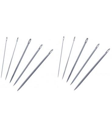 Segelmachernadeln assortiert, 10 Nadeln