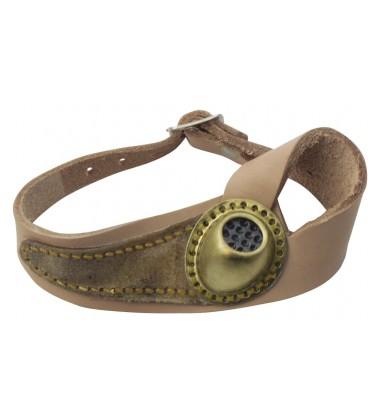 Segelmacherhandschuh aus Leder für Rechtshänder
