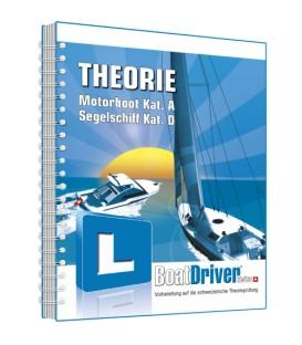 BoatDriver Swiss - THEORIE-Buch Kat. A/D