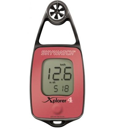 Skywatch Xplorer 4, Windmesser-Thermometer mit elektronischem Kompass und Höhenbarometer