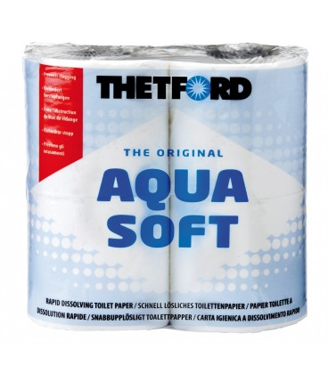 Thetford Aqua Soft Toilettenpapier, 4 Rollen
