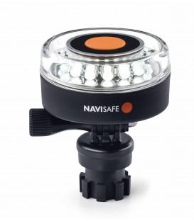 Navilight 360° weiss 2NM mit Navimountbasis