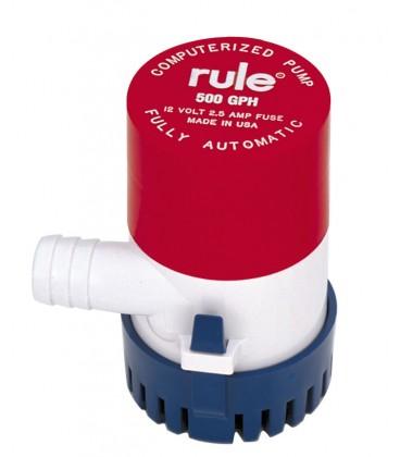 Rule Automatische Tauchbilgenpumpe Modell 500, 12 V